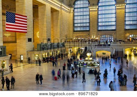 Grand Central Station Travelers