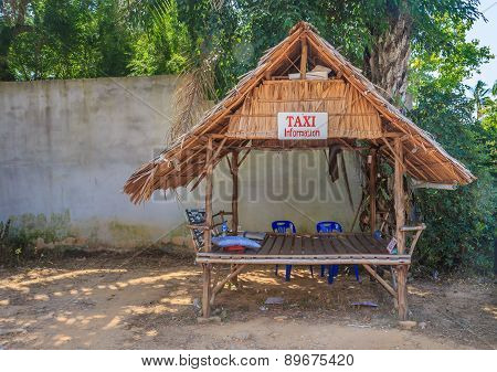 Taxi Stand In Krabi Thailand