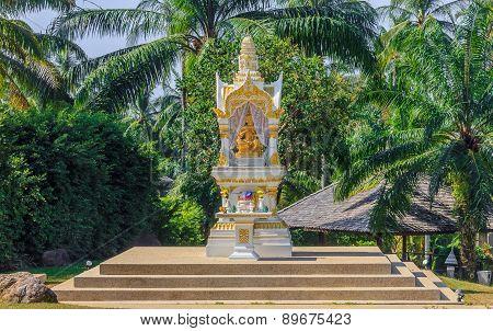 Buddhist Altar In Krabi Thailand
