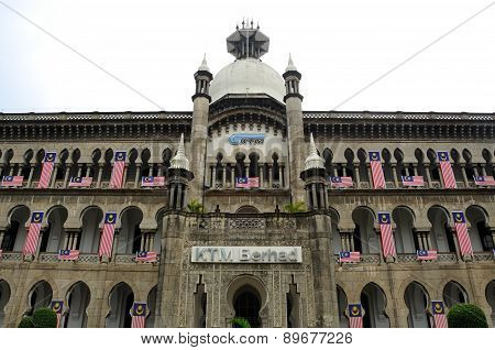 Kuala Lumpur Railway Station Administration Building