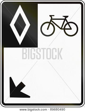 Bike Lane In Canada