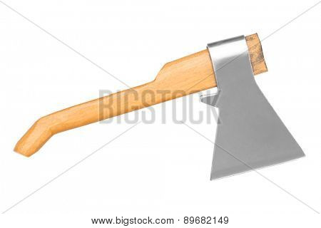 Axe isolated on a white background