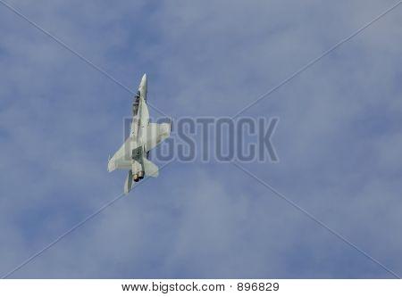 F/A-18 Climbing