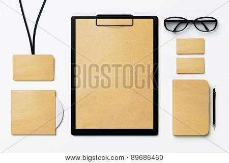 Blank Corporate Identity Set