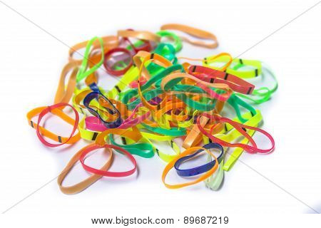 Group Of Colorful Rubber Band
