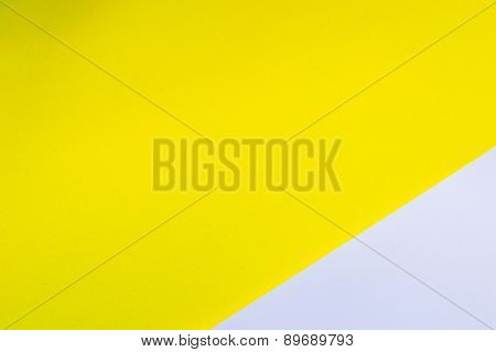 background white and yellow paper, horizontal