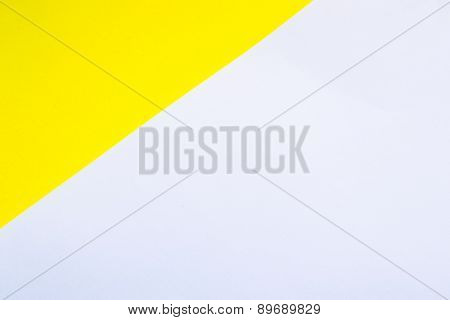 background white and yellow paper