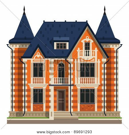house vector logo design template. construction, building or rent icon.