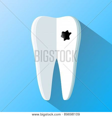 Human Tooth As A Notepad