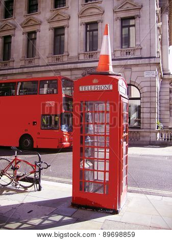 Red Phone and Red Bus