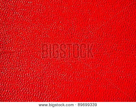 Retro Look Red Leatherette Background