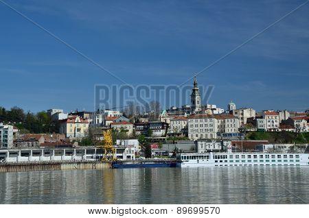 Old Belgrade City Panorama
