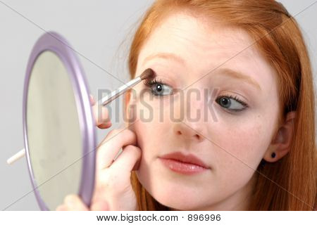 Eye Shadow Application