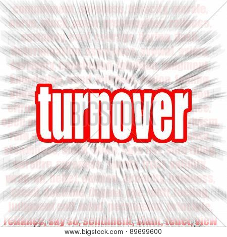 Turnover Word Cloud