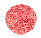 stock photo of beef-burger  - Hand Made From Minced Beef - JPG