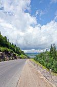 stock photo of trans  - Trans canada Highway Along Superior Lake Shore - JPG