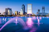 picture of fountains  - Jacksonville - JPG