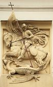 picture of kill  - Saint George killing the Dragon - JPG