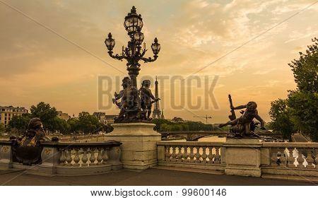 The bridge of Alexandre III