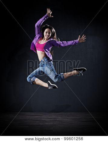 Dancing girl (dark version)