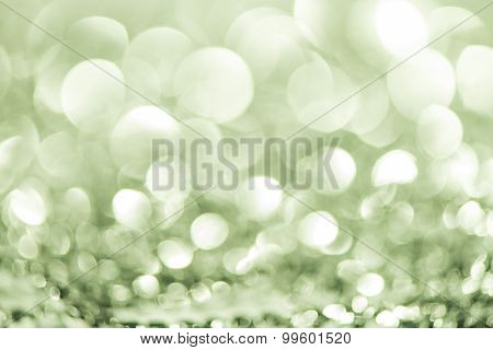 Green Abstract Background bokeh