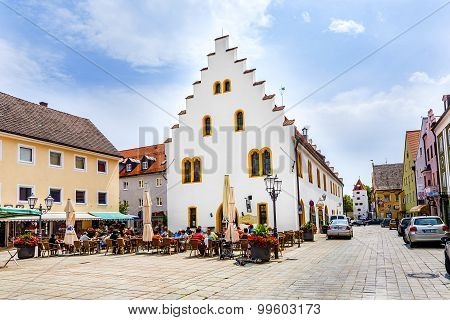 Old Medieval Town Of Schongau