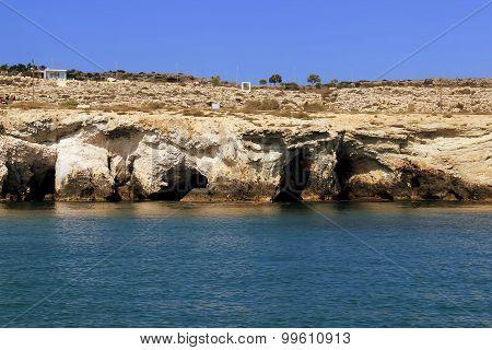Pirate Cave Aiya Napa, Cyprus