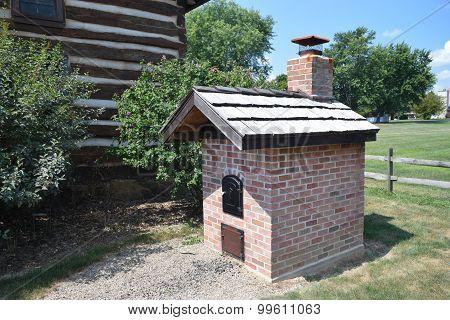 outdoor brick oven