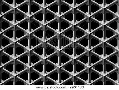 Crystalline Seamless Pattern