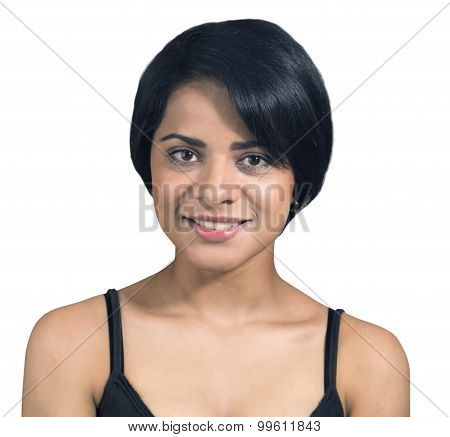 Beautiful Latin Woman Portrait