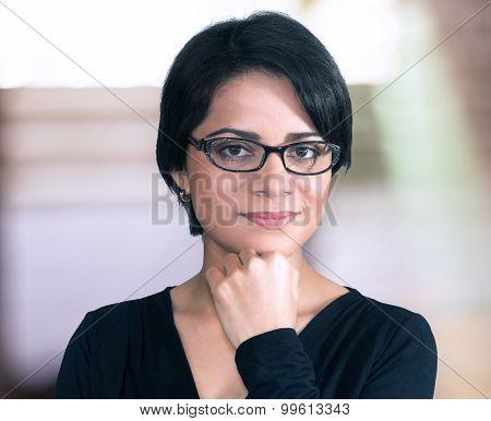 Beautiful Latin Woman Portrait