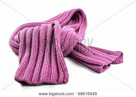 Purple Woollen Scarf