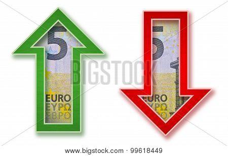 Euro Money Arrow