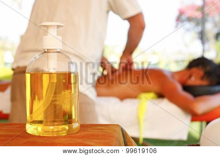 Massage Oil Bottle