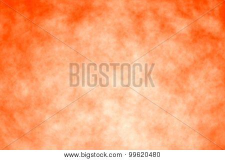 An abstract orange Halloween or Thanksgiving background
