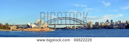 Sydney Harbour, Bridge & Opera House Panorama