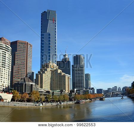 South Bank Of The Yarra River, Melbourne