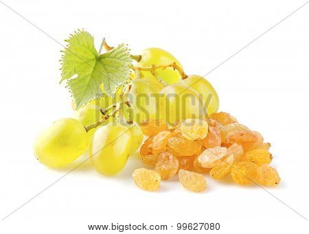 Raisins with grape