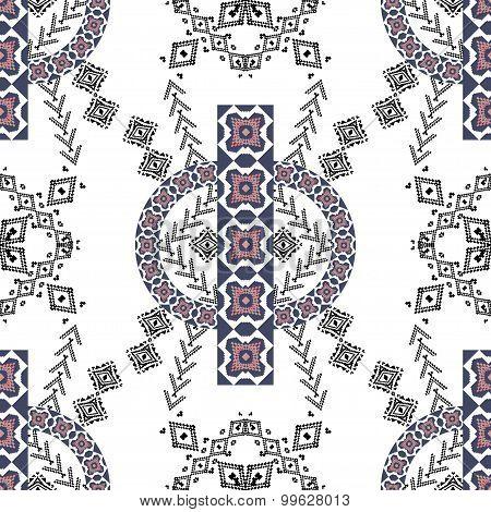Ethnic Tribal Pattern In Boho Style