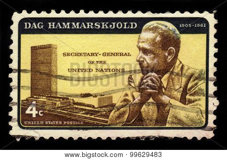 Dag Hammarskjold, Secretary-general Of The United Nations