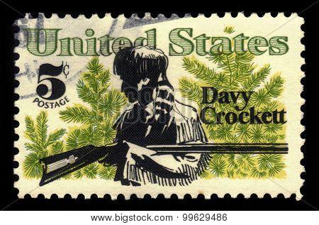 Davy Crockett, American Folk Hero
