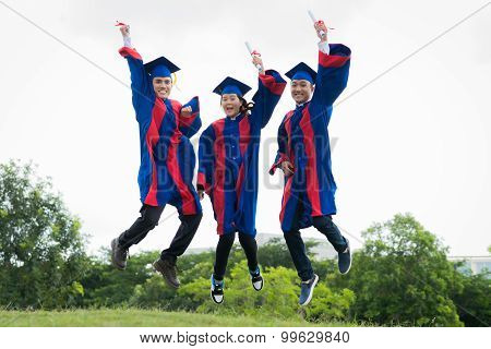 Jumping graduates