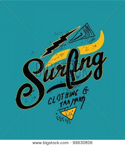 surfing artwork for clothing 5