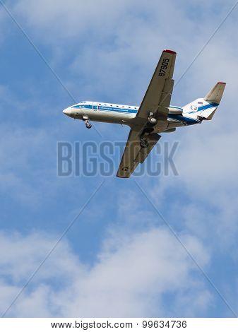 Passenger Yak-40K Vologda Airlines