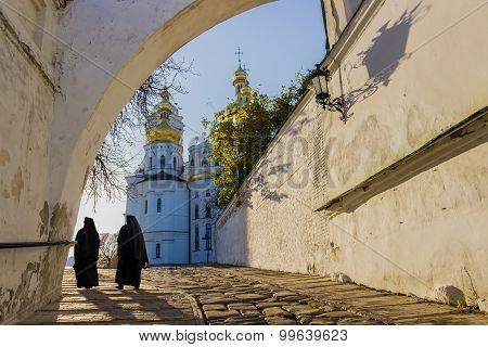 Kiev-pechersk Lavra In Autumn