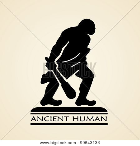 Ancient human icon