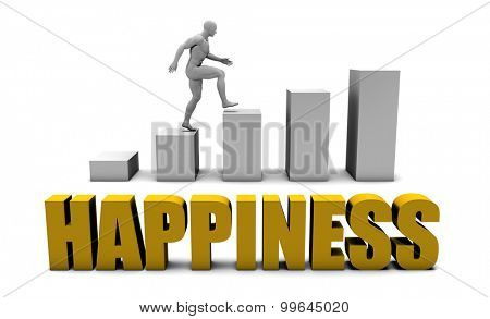 Improve Your Happiness  or Business Process as Concept