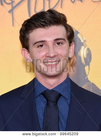 LOS ANGELES - AUG 20:  Alex Shaffer arrives to the