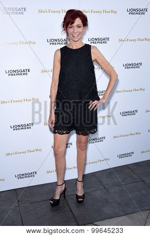 LOS ANGELES - AUG 19:  Carrie Preston arrives to the