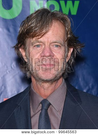 LOS ANGELES - AUG 10:  William H. Macy arrives to the Summer 2015 TCA's - CBS, The CW & Showtime  on August 10, 2015 in West Hollywood, CA